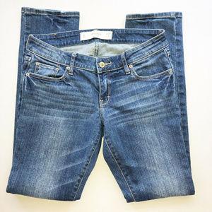 Abercrombie & Fitch Low Rise Skinny Jeans Sz 4 S